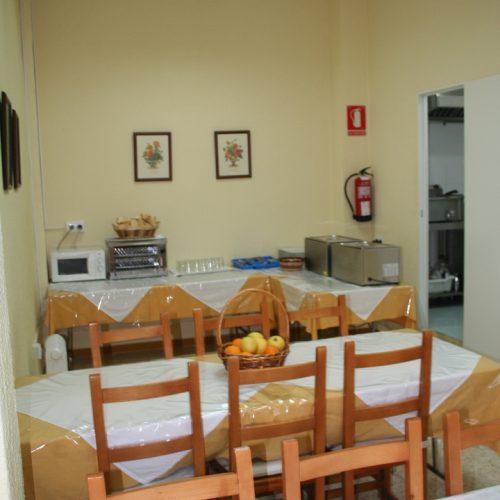 comedor residencia de estudiantes